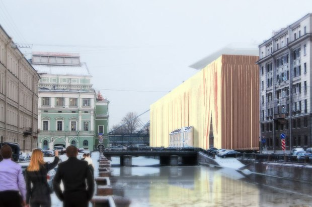 Архитекторы придумали, как замаскировать Мариинку-2. Изображение № 3.