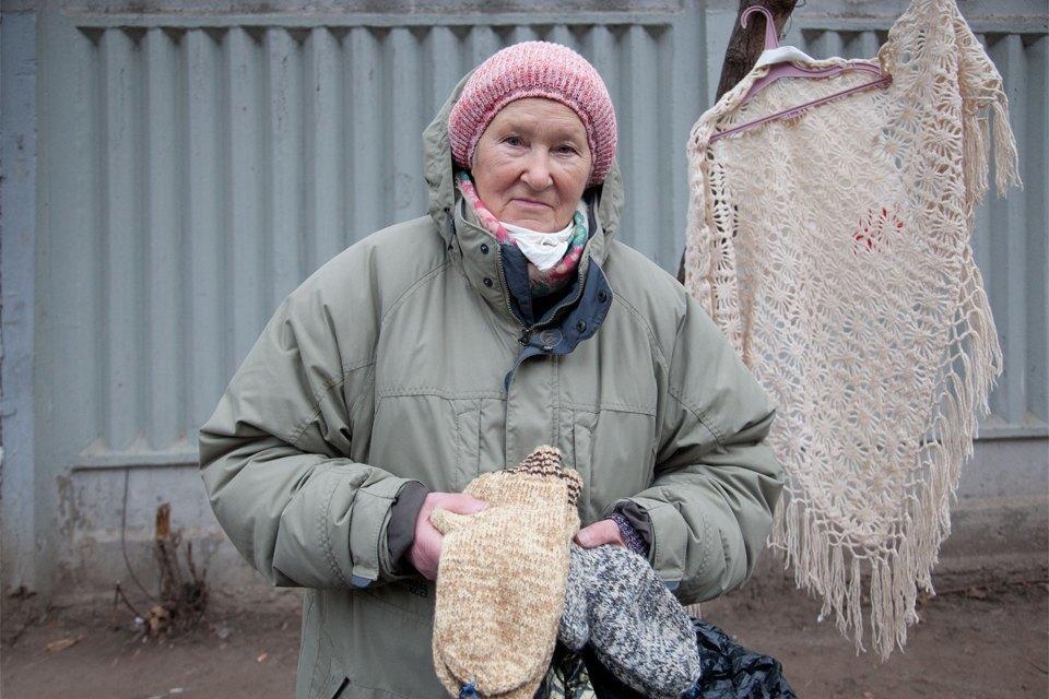 Кто продаёт шерстяные носки наулицах Москвы. Изображение № 1.