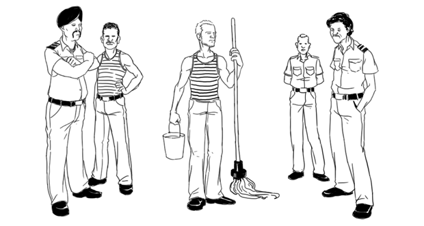 Как всё устроено: Работа моряка. Изображение №2.