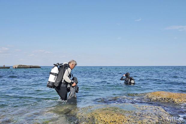 На воде: Виндсёрфинг, вейкбординг и дайвинг в Одессе. Зображення № 41.