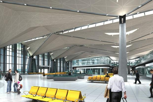 Фоторепортаж: Каким будет новый терминал Пулкова. Изображение № 18.