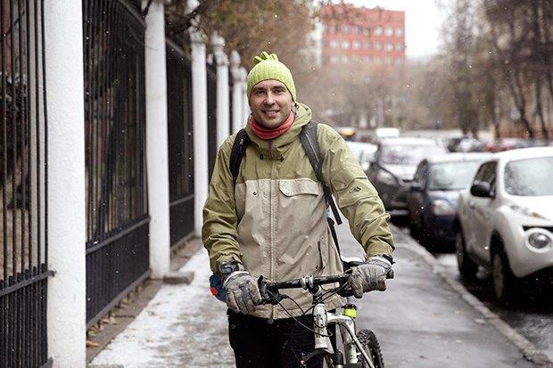 В диких условиях: Велосипед против автомобиля в –10 ˚C. Изображение № 1.