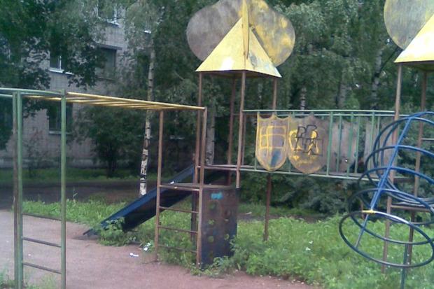 Между м. «Приморская» и ул. Железноводская, 64, сквер. Изображение №6.