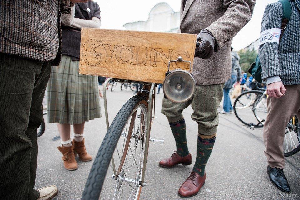 Second Time: В Киеве прошёл второй велокруиз в стиле ретро. Изображение № 10.