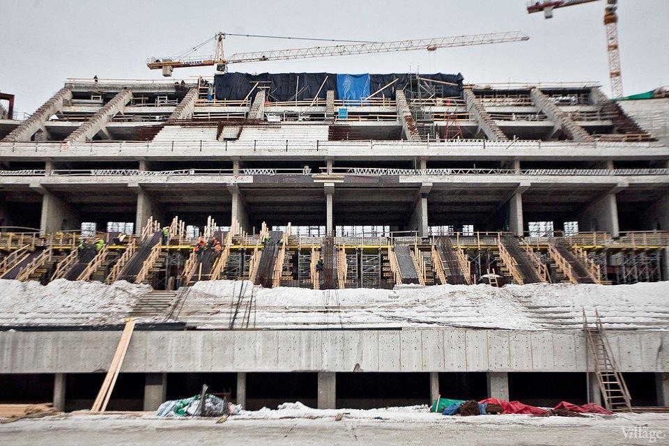 Фоторепортаж: Стадион «Зенит-Арена» изнутри. Изображение № 19.
