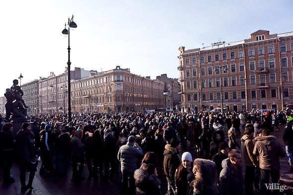Фоторепортаж: Митинг в поддержку Путина в Петербурге. Изображение № 54.