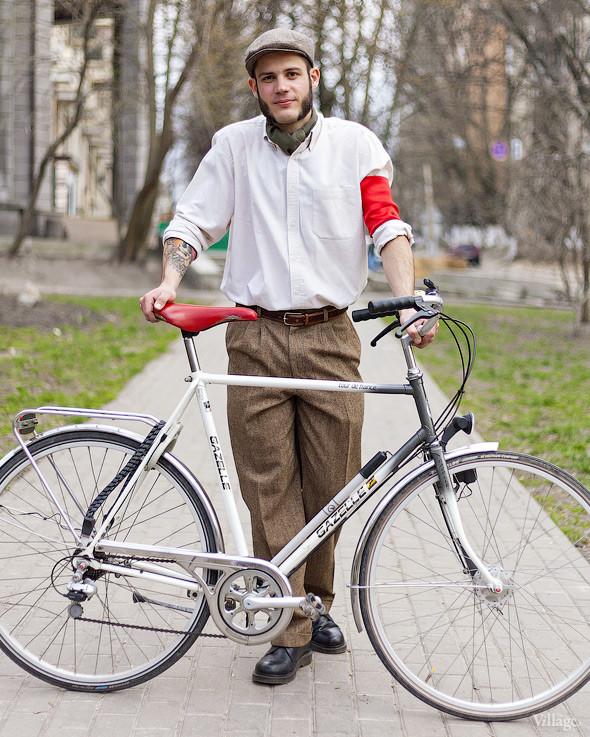 С твидом на город: Участники первого «Ретрокруиза»— о своей одежде и велосипедах. Изображение №63.