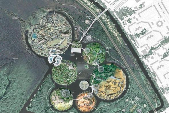 Остров построен на системе из 6 островов. Изображение № 56.