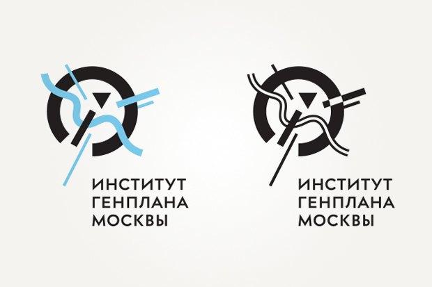 «Студия Лебедева» разработала логотип Института Генплана Москвы. Изображение № 2.