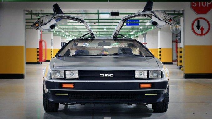Машина времени из фильма «Назад в будущее» на сайте Auto.ru. Изображение № 2.