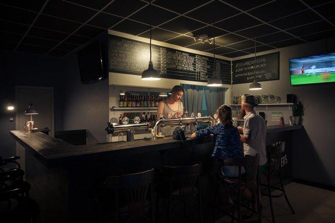 На«Комендантском проспекте» открылся пивной бар BrewMasters. Изображение № 3.