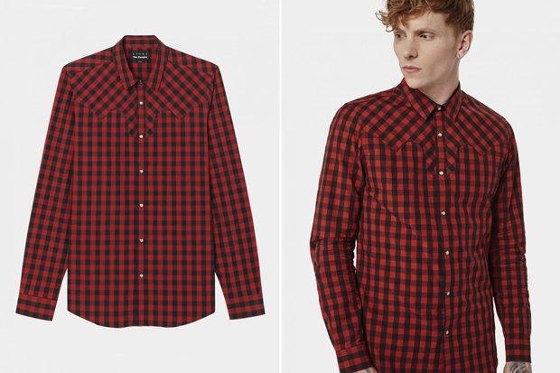 Где купить мужскую рубашку вклетку: 9вариантов отодной досеми тысяч рублей. Изображение № 10.