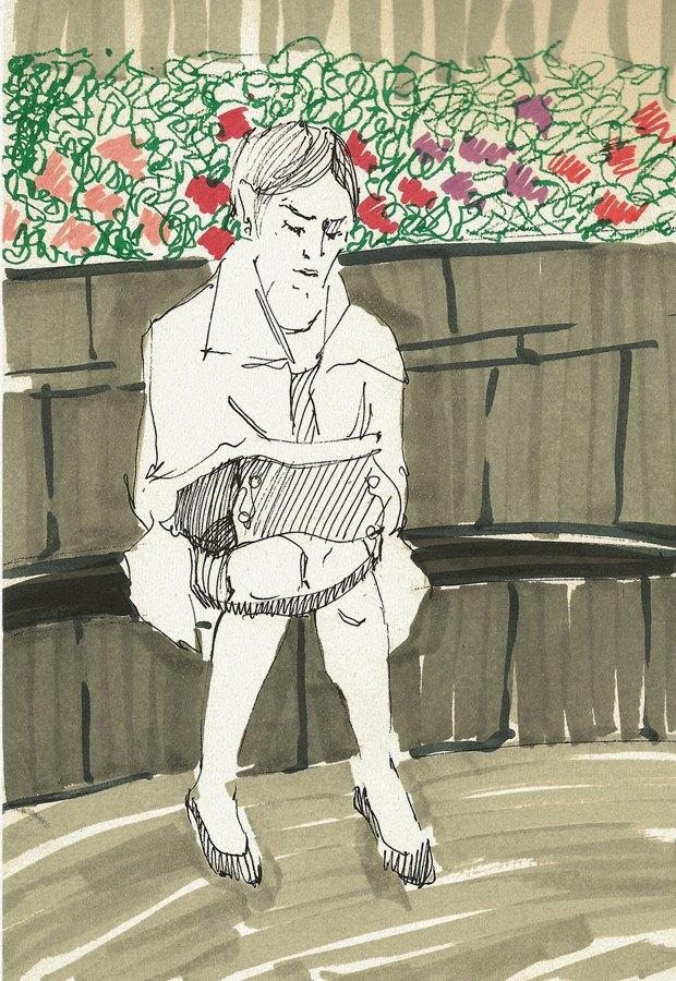 Клуб рисовальщиков: «Белая площадь». Изображение № 7.