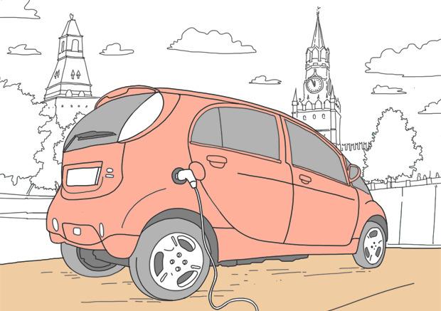 Эксперимент The Village: Можно ли в Москве ездить на электромобиле. Изображение № 1.