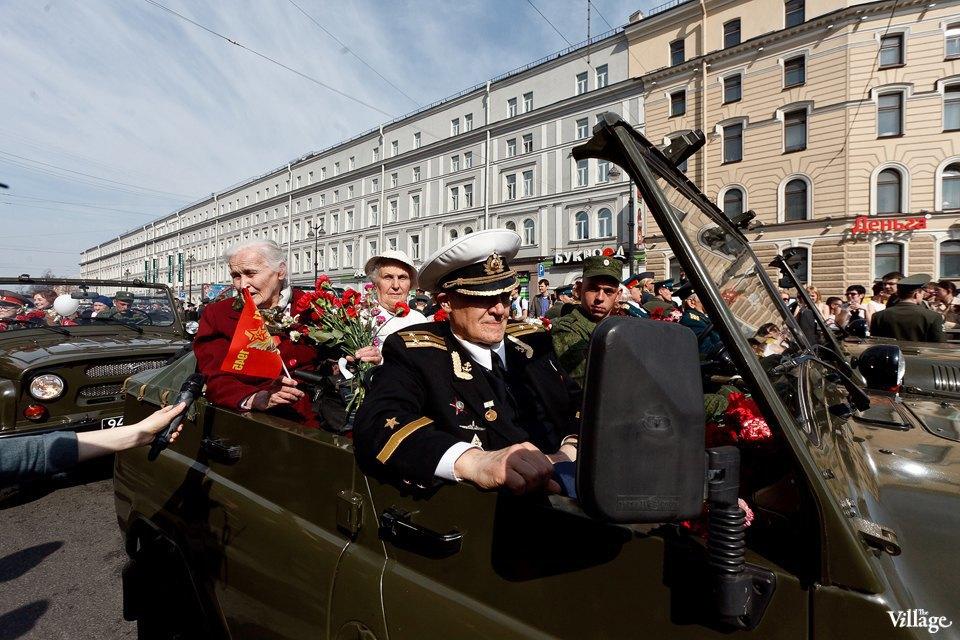 Фоторепортаж: День Победы в Петербурге. Изображение № 35.