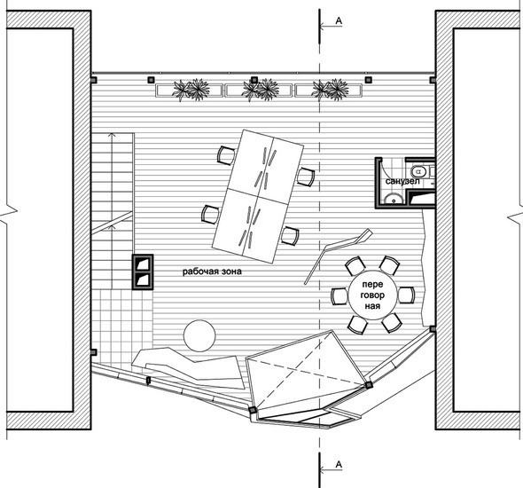 Проект третьего этажа. Изображение № 9.