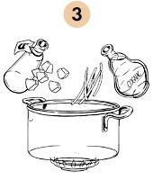 Рецепты шефов: Суп-пюре из тыквы с бальзамическим кремом. Изображение № 7.