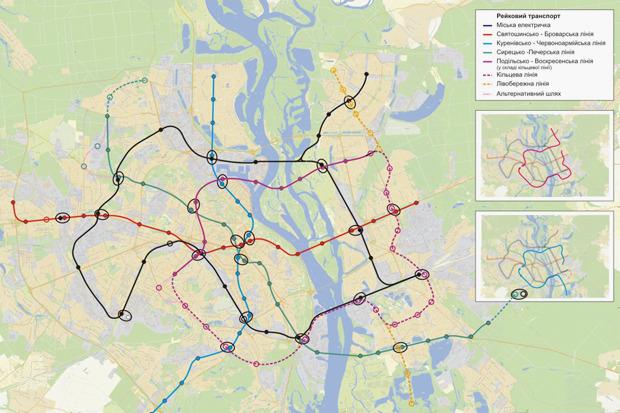 Четвёртая линия: Все проекты метро на Троещину. Зображення № 23.