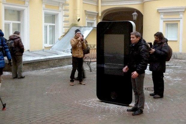 В Петербурге открыли памятник Стиву Джобсу. Изображение № 2.