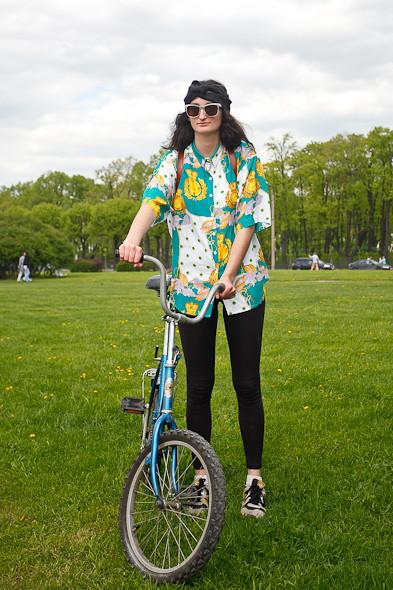 Участники пробега Let's bike it! о велодорожках. Изображение № 6.