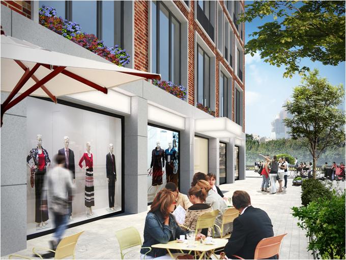 В «Москва-Сити» планируют построить жилой комплекс с причалом имини-пляжем. Изображение № 4.