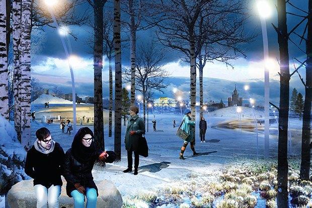 Парк в Зарядье: Проекты победителей и мнения экспертов. Изображение № 10.