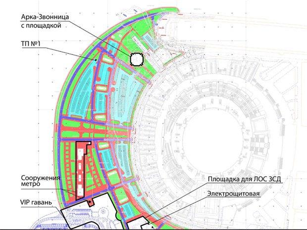 Опубликована часть проекта набережной около «Зенит-арены». Изображение № 7.