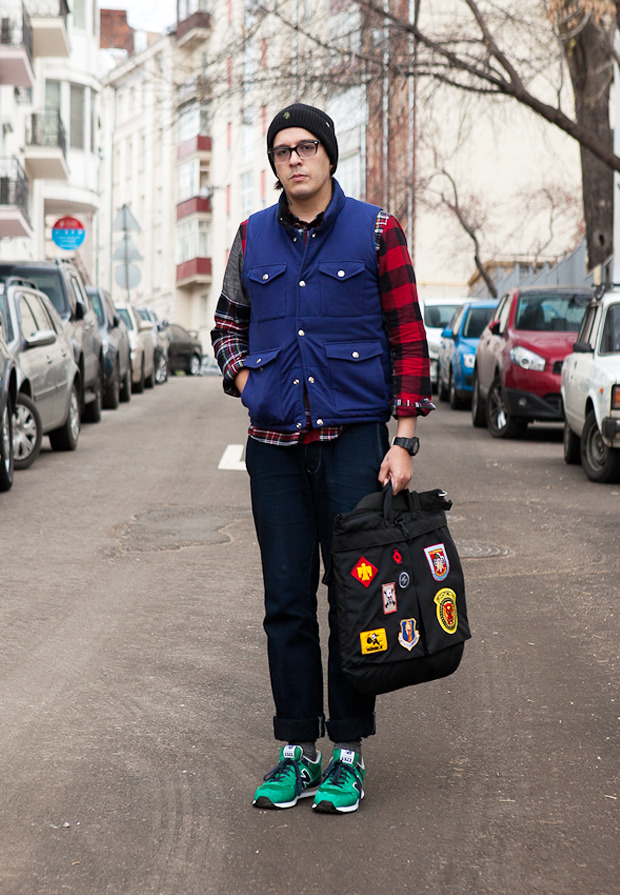 Внешний вид: Дмитрий Оскес, куратор исоорганизатор Faces&Laces. Изображение №1.