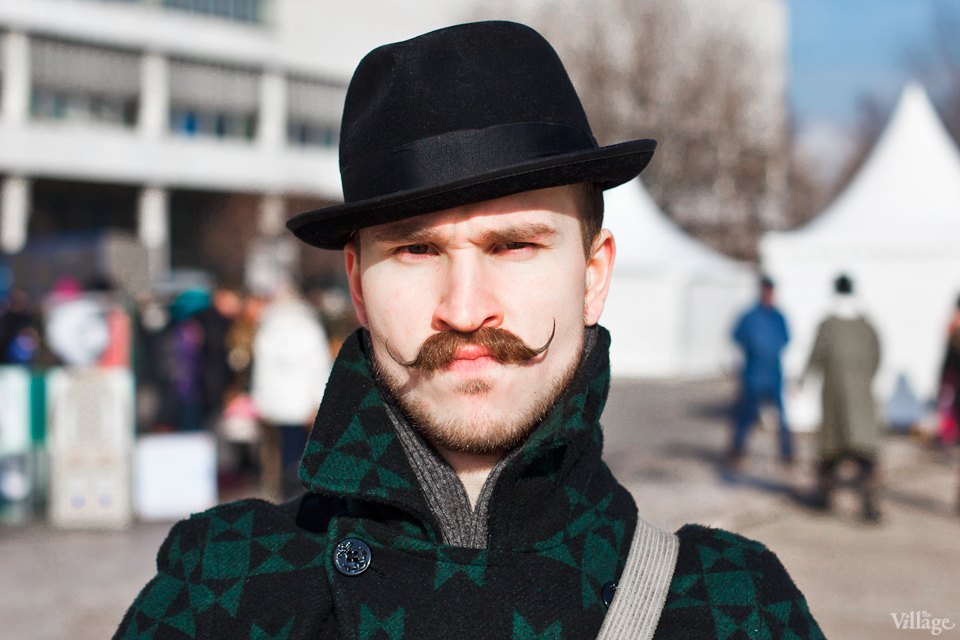 Люди в городе: Участники фестиваля усов. Изображение №2.