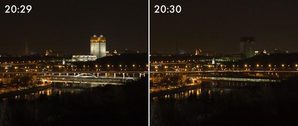 Тушите свет: Как Москва провела «Час Земли». Изображение № 8.