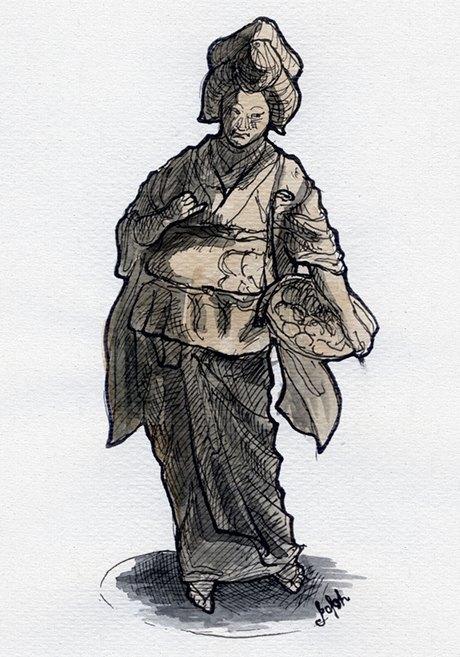 Клуб рисовальщиков: Выставка «Самураи. 47ронинов». Изображение № 2.