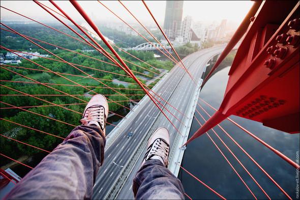 Вид со строящегося моста. Изображение № 11.