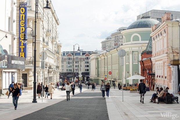 Фото дня: Как выглядит пешеходная Большая Дмитровка. Изображение № 10.
