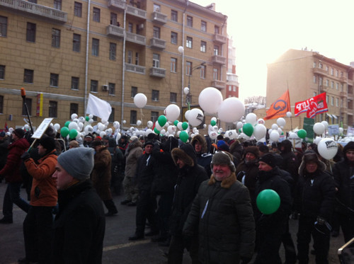Онлайн-трансляция: Шествие и митинг «За честные выборы». Изображение № 74.