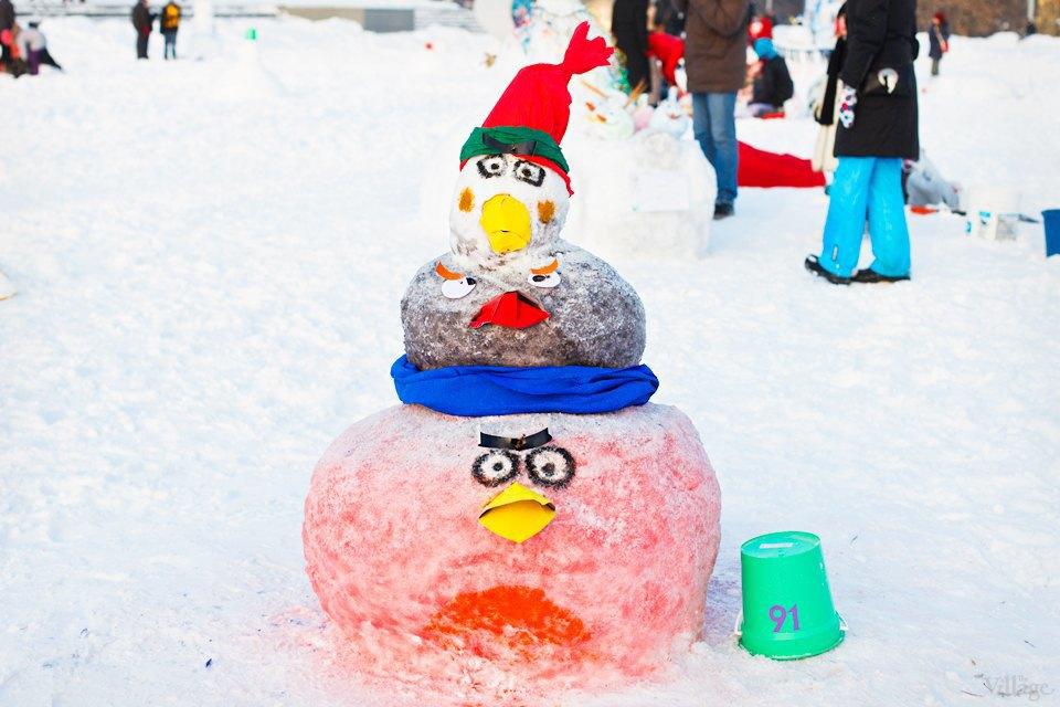 Люди в городе: «Арт-битва снеговиков». Изображение № 23.