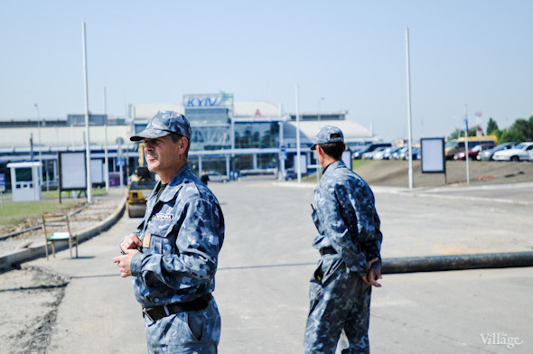 Фоторепортаж: Новый терминал аэропорта Киев — за день до открытия. Зображення № 7.