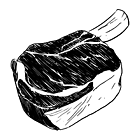 Части тела: Из чего сделаны стейки в ресторанах. Изображение №10.