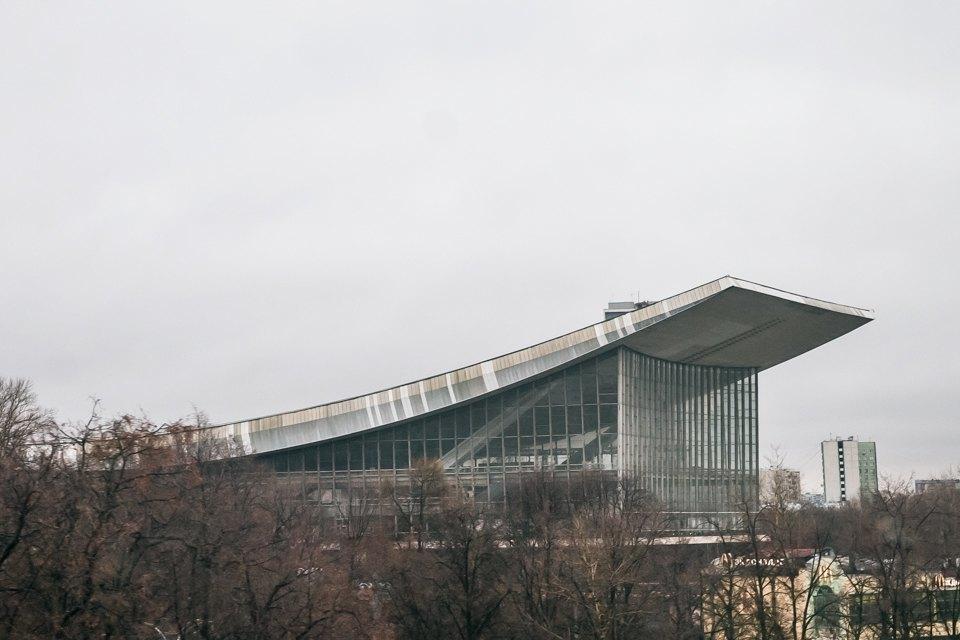 Архитектор Андрей Стенюшкин— омонреальском павильоне наВДНХ. Изображение № 12.