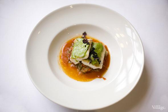 «Черная треска и запеченные овощи под травяным соусом» в ресторане «The Сад». Изображение № 32.