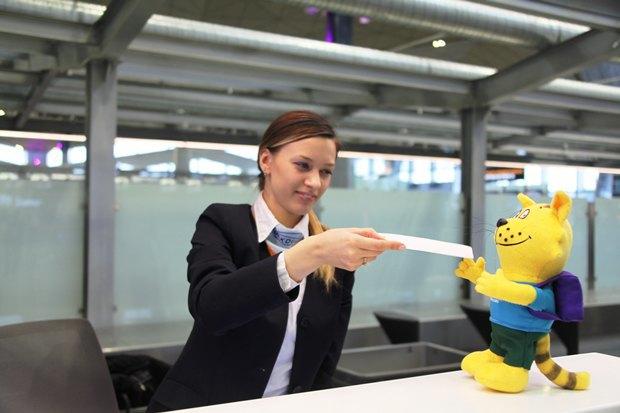 У аэропорта Пулково появился игрушечный кот-талисман. Изображение № 4.