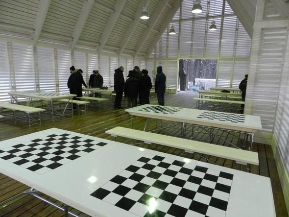 В Нескучном саду открылся шахматный клуб «Белая ладья». Изображение № 4.