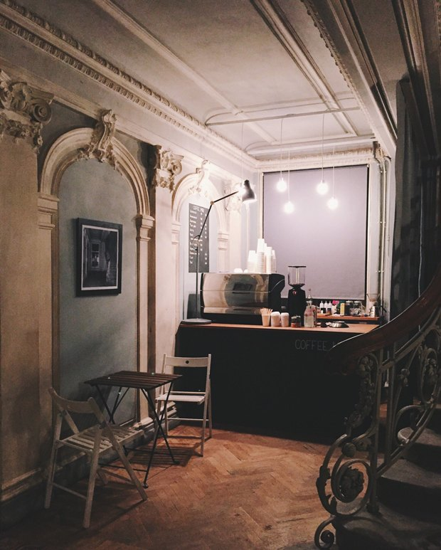 В «Цархитекторе» открылась стойка Coffee_miru. Изображение № 2.