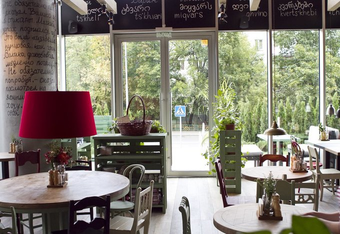 На «Молодёжной» открылось кафе «Хачапури» . Изображение № 3.