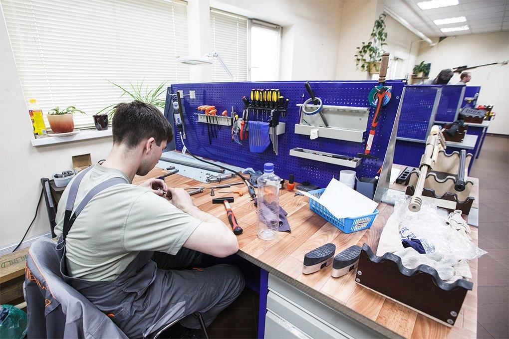 Производственный процесс: Как делают винтовки. Изображение № 31.