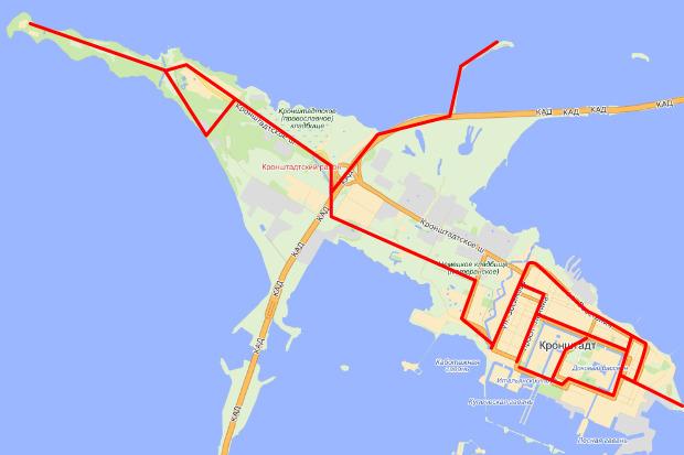 Ориентировочные маршруты проекта «Велосипедный город». Изображение № 23.