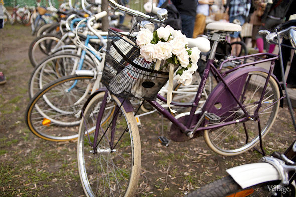 С твидом на город: Участники первого «Ретрокруиза»— о своей одежде и велосипедах. Изображение № 15.