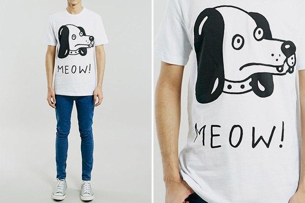 Где купить мужскую футболку с задорнымпринтом: 6 вариантов от899 до3900 рублей. Изображение № 4.