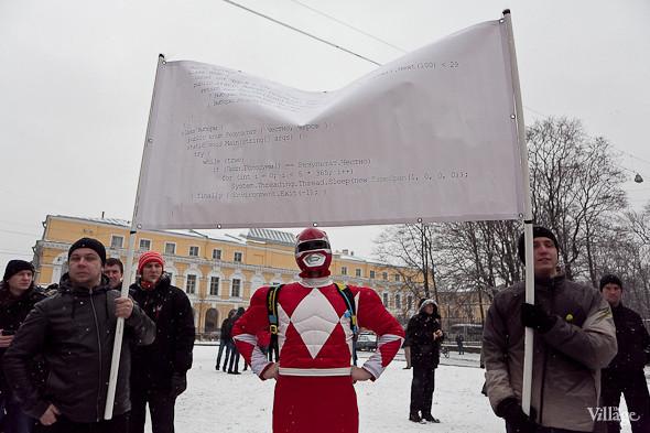 Два санкционированных митинга в Петербурге собрали 2 500 человек. Изображение № 32.