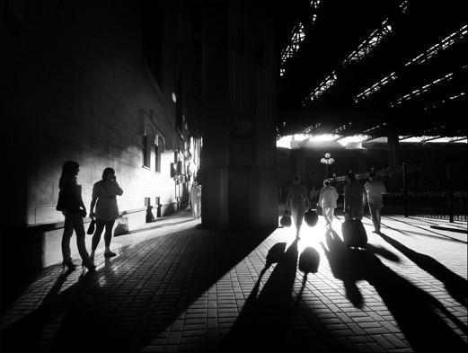 «События и повседневная жизнь» Дмитрий Зверев. «Казанский вокзал» . Изображение № 10.