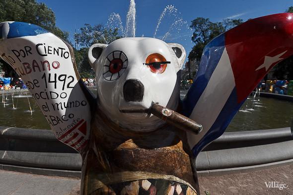 В Александровском саду выставили медведей United Buddy Bears. Изображение № 7.